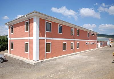 Prefabrik Yemekhane Binaları