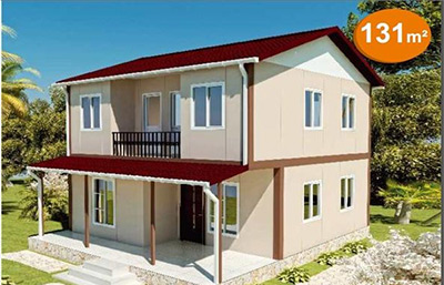 Prefabrik Çift Katlı Ev