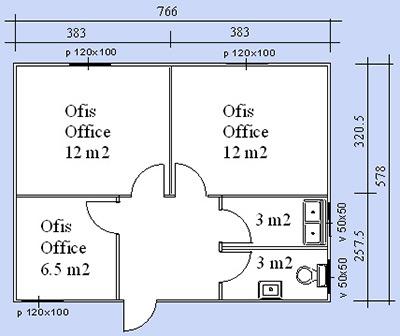 Prefabrik Ofis Projesi 03