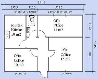 Prefabrik Ofis Projesi 05